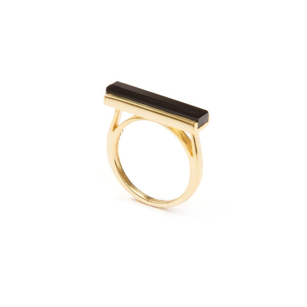 Ring - URBAN RING </br>  Black Onyx