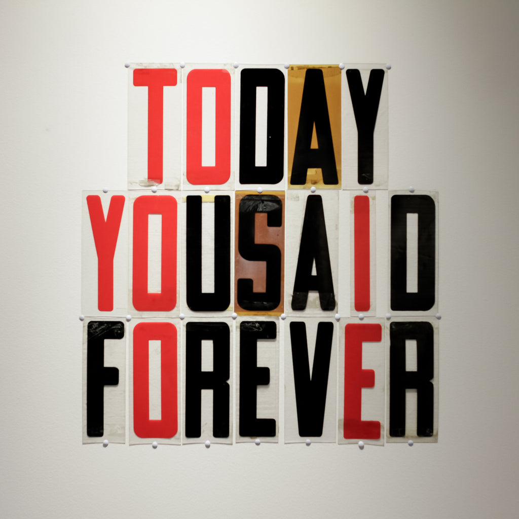 Today You Said Forever