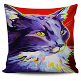 Colorful Cats Pillow Cases