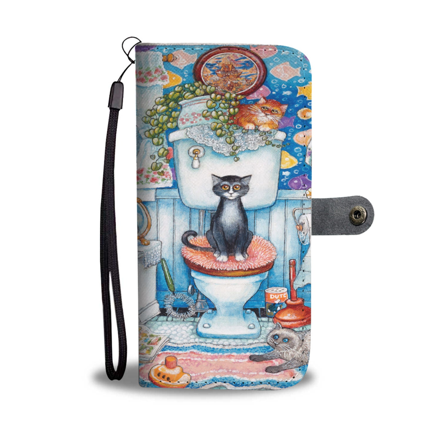 Cubbys Bathroom Wallet Case