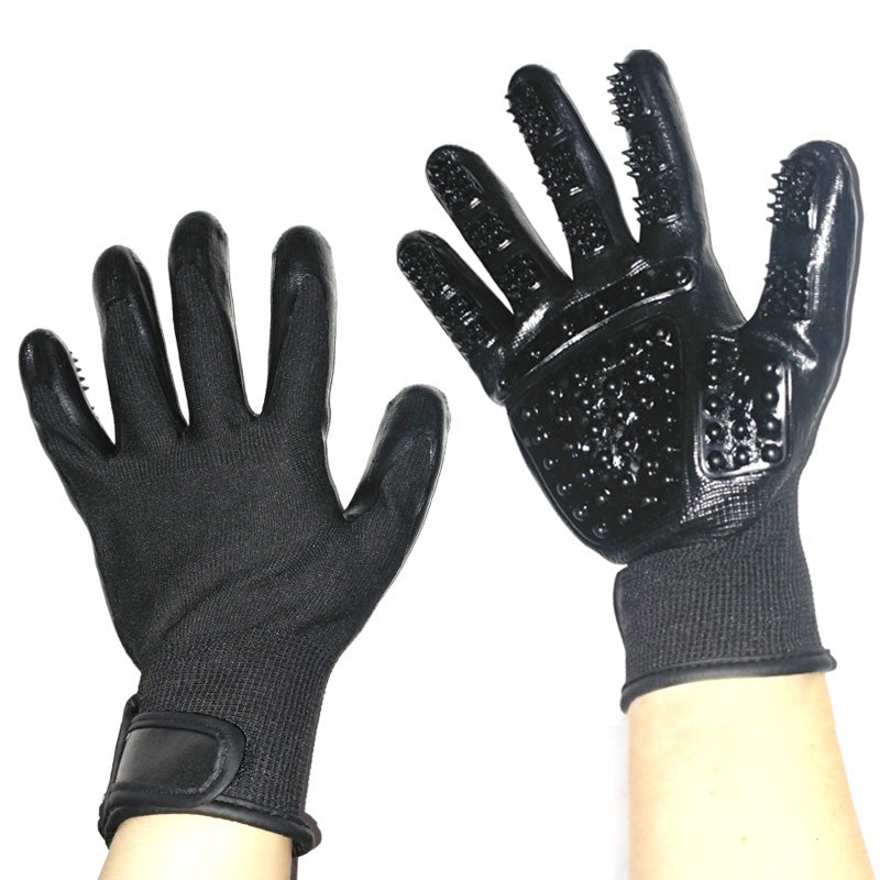 Cuddly Friendly Grooming Gloves