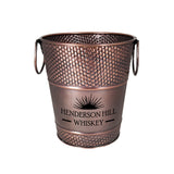 brekx copper finish wine bucket hammered promotional