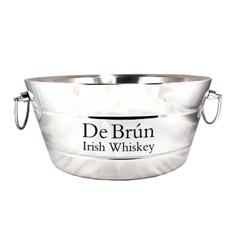 🆕 Anchored Ribbed Double-Walled Steel Beverage Tub