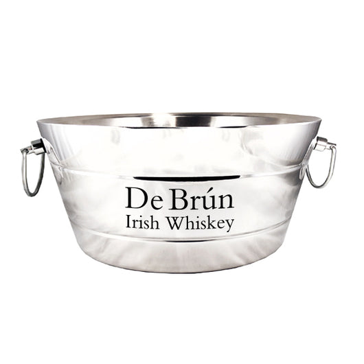 Anchored Ribbed Double-Walled Steel Beverage Tub