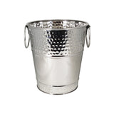 Berkshire Hammered Wine Bucket in Stainless Steel