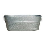 Extra large BREKX 80 quart galvanized beverage tub called the tank for a reason