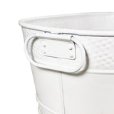 Colt White Oval Beverage Bucket