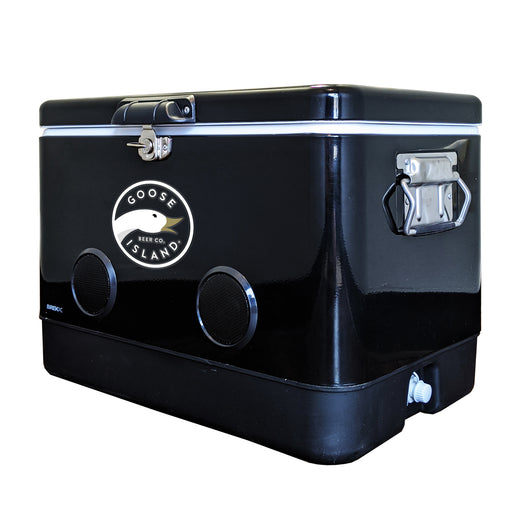 BREKX Party Cooler™ - 54QT Cooler with Bluetooth Speakers (Black)