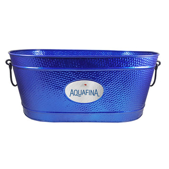Creighton Pebbled Beverage Tub in Sea Breeze Blue