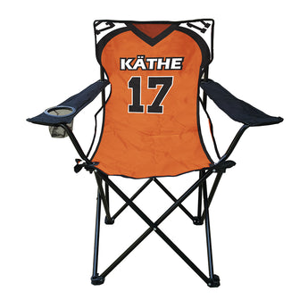 Football Jersey Sublimated Tailgate Chair