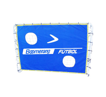 Kickin' Steel Soccer Goal with Net