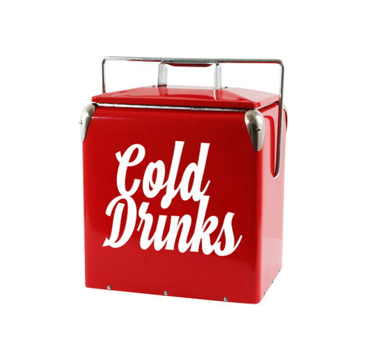 Throwback 14QT Metal Retro Cooler