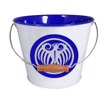 5QT Debossed Bucket with Swing Handle