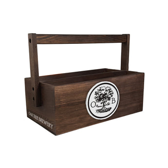Southern Wood Condiment Caddy Box