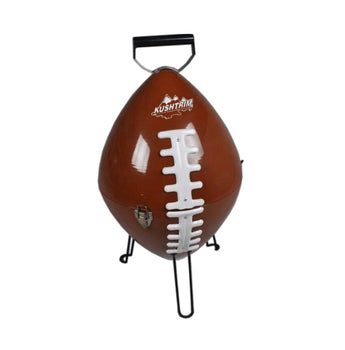 Kickoff Football shaped Charcoal BBQ Grill