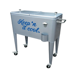Keep'n it Cool 60QT Rolling Cooler
