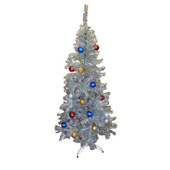 Bells Silver Holiday Tree
