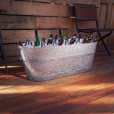 brekx the tank large 80 quart galvanized beverage tub perfect patio use outdoors