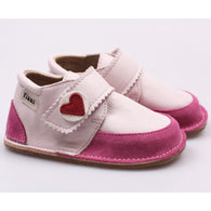 Chaussures pied nu, enfants, en cuir / Soft sole shoes for kids, leather