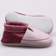 Chaussures souples multicolores - Multicolor soft shoes LILAC