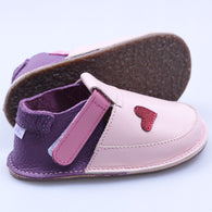 chaussures pied nu, enfants, en cuir / Soft sole shoes for kids, leather www.petit-philippe.ca