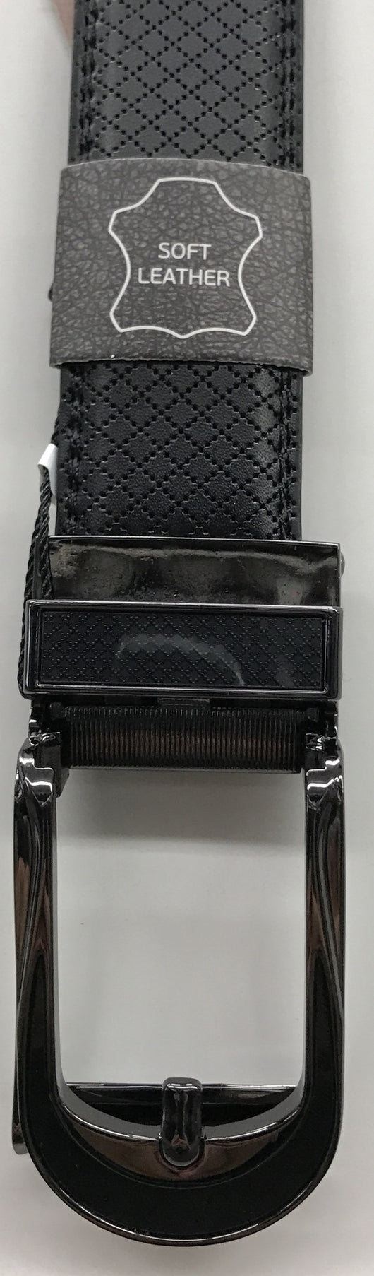 Marino Black Buckle Belt