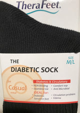 TheraFeet Diabetic Sock For Casual Wear