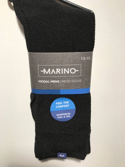 Marino Black Dress Sock