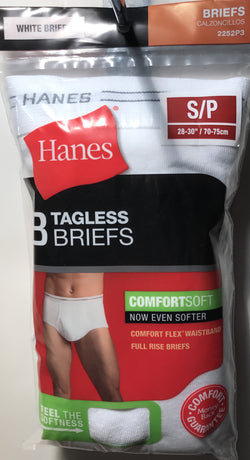 Hanes Tagless Briefs 3 Pack