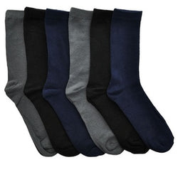 SWAN Cotton Solid Dress Socks