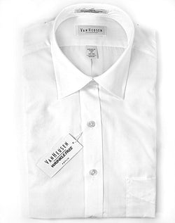Van Heusen White Long Sleeve Dress Shirt