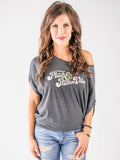 Plants & Positive Vibes : Dolman Tee - The Groovy Vegan