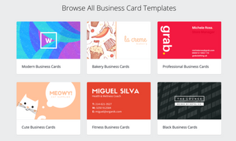 FREE Business Cards Design Tool