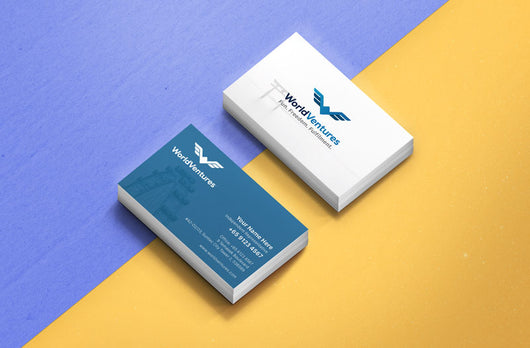 World Venture Business Cards – Earnest Print