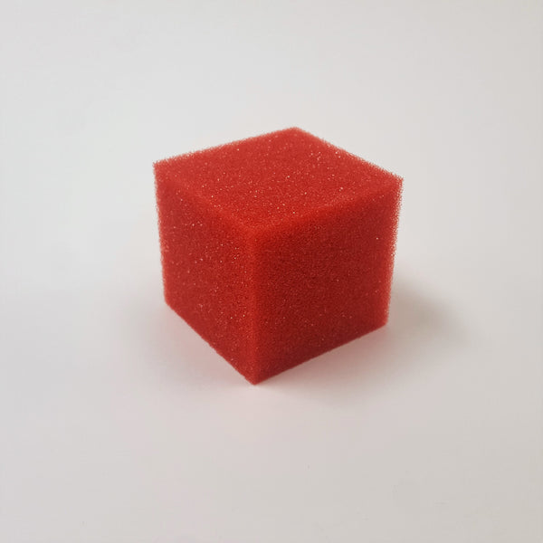 Foam Cube - Small Red