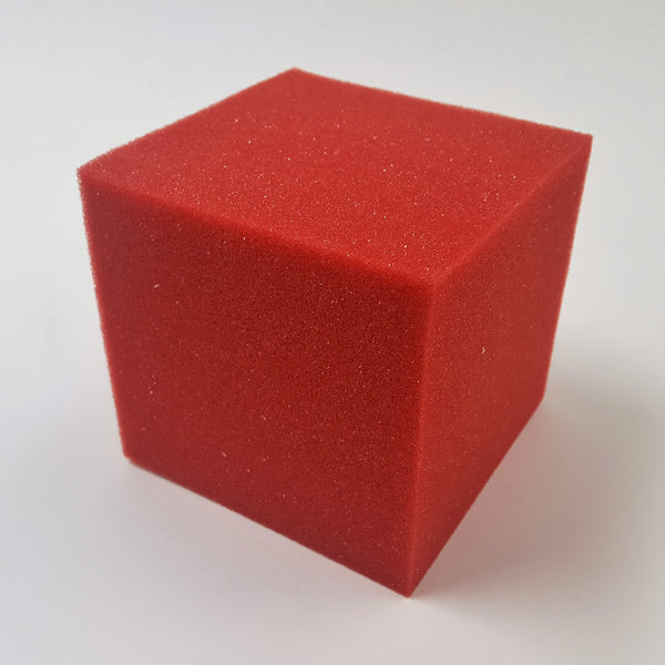 Foam Cubes - Large Red