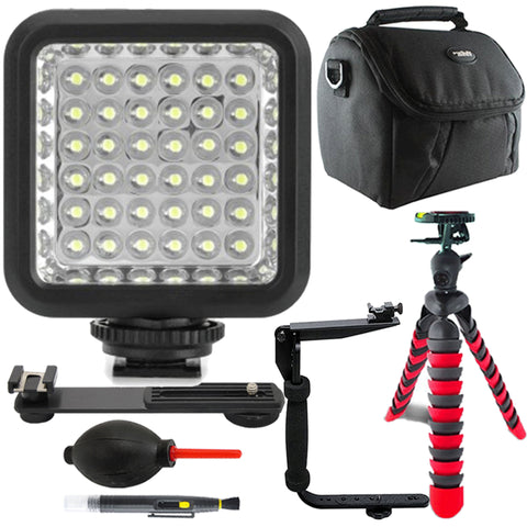 Vidpro LED-36X Digital Photo and Video LED Light with Accessory Kit
