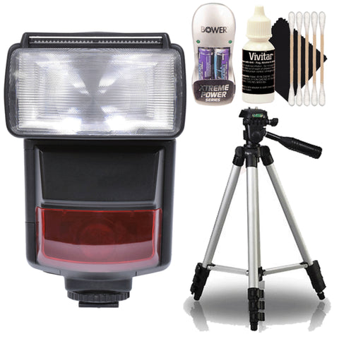 e-TTL Speedlite Flash with Accessories For Canon 77D , 80D and 760D