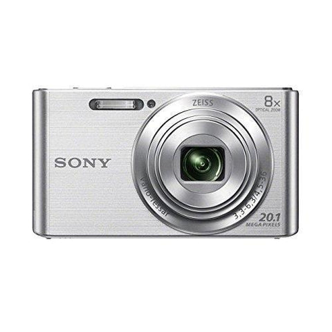 Sony DSC-W830 20.1MP Digital Camera Silver