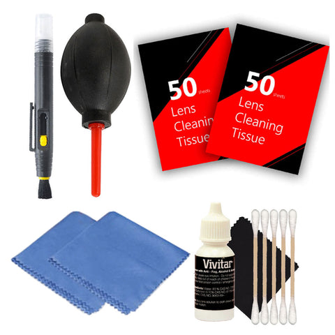 Cleaning Accessory Kit for All Digital SLR EOS Rebel Cameras