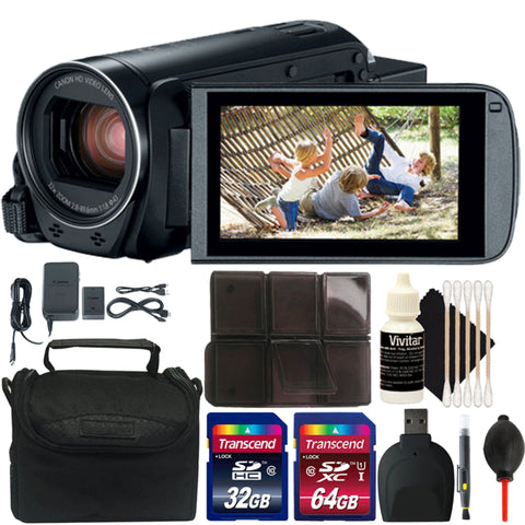 Canon VIXIA HF R800 HD Camcorder Black with Accessory Bundle
