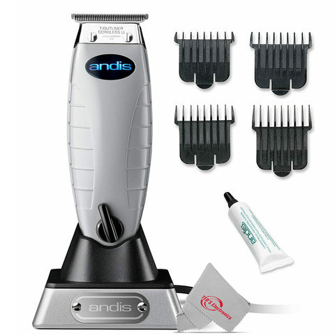 Andis 74000 Professional Cordless T-Outliner Beard/Hair Trimmer 110-220 Volts