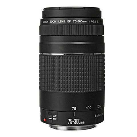 Canon EF 75-300mm f/4-5.6 III Telephoto Zoom Lens For Canon EOS Rebel Cameras