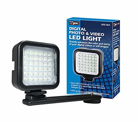 Vidpro LED-36X Photo and Video LED Light