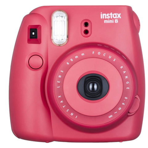 Best Seller! Fujifilm Instax mini 8 Film Camera Raspberry