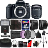 Canon EOS Rebel 77D 24.2MP DIGIC 7 Processor DSLR Camera with 18-55mm Lens Ultimate Accessory Kit
