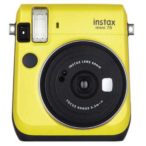 Fujifilm Instax Mini 70 Instant Film Camera Yellow