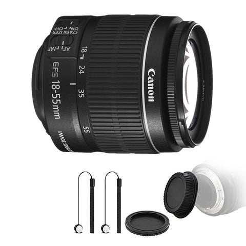 Canon EF-S 18-55mm f/3.5-5.6 IS ll Lens with Accessory Kit for Canon T6 , T6i and T7i