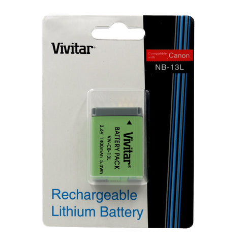 Li-on Battery For Canon NB-13L 1400MAH For Canon PowerShot Mark II G5X G7X G9X SX720 SX730 SX620