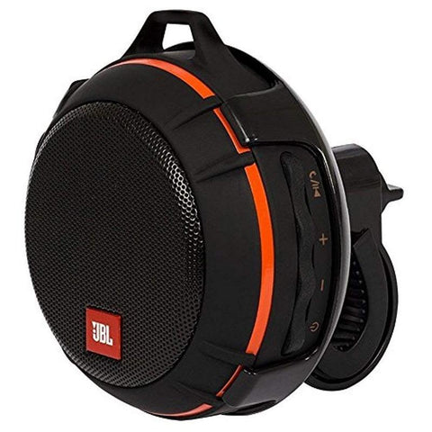 JBL Wind Bike Portable Bluetooth Speaker withFM Radio Supports A Micro SD Card  - Black